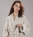 RAYON (BAMBOO) / COTTON BATHROBE