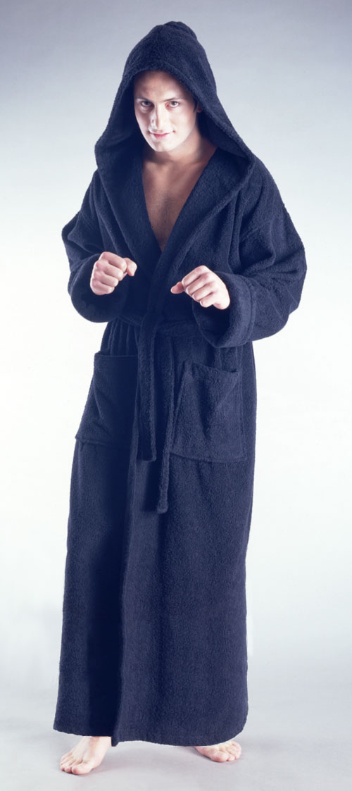 Mens Towelling Dressing Gown With Hood - Best Gowns And Dresses ...